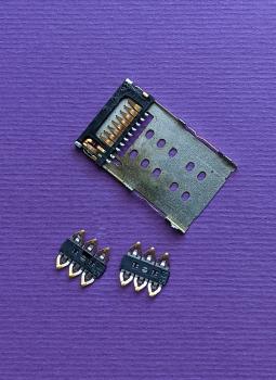 Сим коннектор Motorola Moto Z2 Force