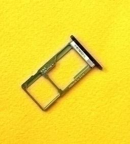 Сим лоток Motorola Moto E5 2 sim чёрный