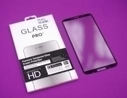Защитное стекло Motorola Moto Z3 Play полное покрытие