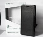 Чехол книжка кожа Samsung Galaxy Note 9 Tech21 Evo Wallet чёрный