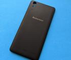 Крышка Lenovo A6010 чёрная А-сток