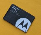 Батарея Motorola BT51 оригинал с разборки (D+ сток) ёмкость 55-60%