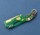 Плата нижняя Nomi i550 Space порт зарядки / микрофон / вибрик