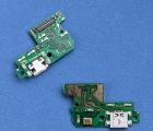 Плата нижняя Huawei P10 lite порт зарядки / микрофон