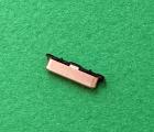 Кнопка боковая Samsung Galaxy A3 (A310 / 2016) розовая