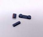 Кнопки боковые Apple iPhone 5 чёрные набор