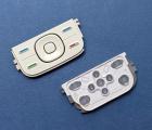Кнопки управления Nokia 5300 белые оригинал