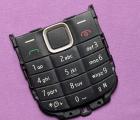 Кнопки (клавиатура) Nokia 1616 чёрная (английская)