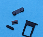Кнопки + сим лоток Apple iPhone 5 чёрный цвет набор