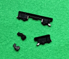 Кнопки боковые Huawei Mate 10 чёрные 2шт + фиксаторы