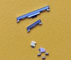 Кнопки боковые Huawei P30 голубые (Aurora)