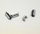 Кнопки боковые Apple iPhone 6 Plus серебро набор (silver)