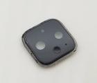 Стекло камеры Google Pixel 4 чёрное (B-сток) с разборки в рамке