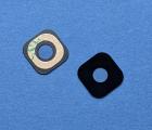 Стекло камеры HTC One M9 чёрное новое