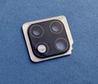 Стекло камеры в рамке чёрной Huawei Mate 20