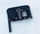 Стекло камеры LG G2 на панели чёрное
