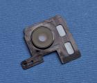 Стекло камеры в рамке LG G7 fit чёрное