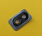Стекло камеры в рамке LG K40 (2019) X420