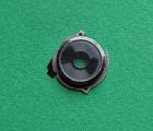 Стекло камеры в рамке LG Stylo 3 чёрное