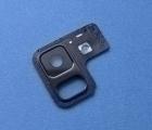 Стекло камеры в рамке Samsung Galaxy A8 Plus a730f (2018)