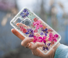 Чехол Google Pixel 2 XL - Case-Mate Karat Series цветочный
