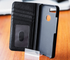 Чехол книжка Google Pixel 3 XL Case-Mate Wallet Folio кожаный чёрный