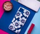 Чехол Google Pixel 4 XL Hollyhock Floral