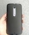 Чехол Motorola Moto X Style силикон чёрный