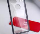 Чехол Google Pixel 2 XL Under Armour Verge прозрачный с серым кантом