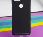 Чехол Google Pixel 3 чёрный матовый