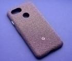 Чехол Google Pixel 3 Fabric case FOG