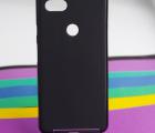 Чехол Google Pixel 3 XL чёрный матовый