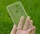 Чехол Google Pixel 3 XL прозрачный TPU