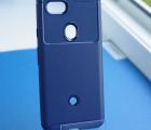 Чехол Google Pixel 3a hybrid синий
