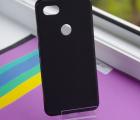 Чехол Google Pixel 3a XL черный матовый