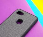 Чехол Google Pixel 3a XL тканевый