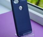 Чехол Google Pixel 3a Yiak тёмно-синий