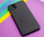 Чехол Google Pixel 4 XL черный матовый
