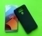 Чехол LG G6 чёрный матовый
