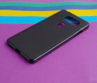 Чехол LG V30s черный матовый