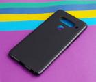 Чехол LG V40 черный матовый