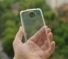 Чехол Motorola Moto C Plus прозрачный - изображение 2