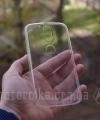 Чехол Motorola Moto G4 прозрачный - изображение 2