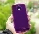 Чехол Motorola Moto Z Tech21 фиолетовый - изображение 5