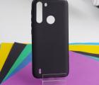 Чехол Motorola One Fusion чёрный матовый - фото 2
