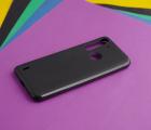 Чехол Motorola One Fusion чёрный матовый - фото 4