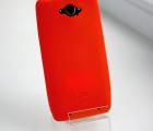 Чехол Motorola Droid Turbo 1 оранжевый силикон