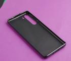 Чехол Motorola Edge чёрный матовый - фото 3