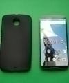 Чехол Motorola Google Nexus 6 силикон чёрный