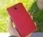 Чехол Motorola Google Nexus 6 книжка красная